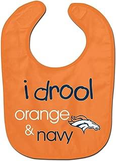 WinCraft NFL Denver Broncos WCRA1961314 All Pro Baby Bib