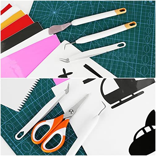 Craft Vinyl Weeding Tools Set,Weeding Kit,Precision Basic Tool Set for Art Project,Lettering,Cutting,Paper Craft,Sewing… |