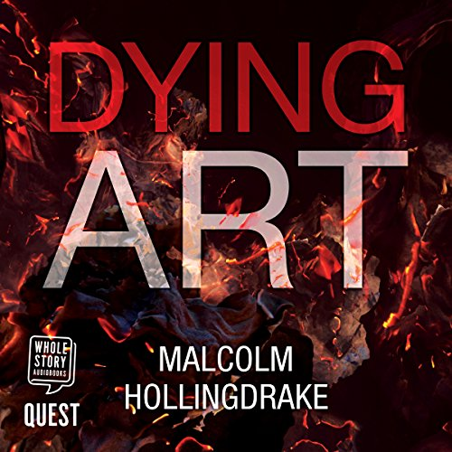 Dying Art audiobook cover art