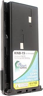 Kenwood TK-3101 - Batería de repuesto para radio Kenwood KNB-14, KNB-15 (1200 mAh, 7,2 V, NI-CD)
