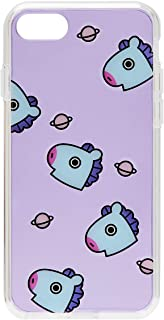 BT21 Official Merchandise by Line Friends - MANG Pattern TPU Case for iPhone 8 Plus/iPhone 7+, Purple