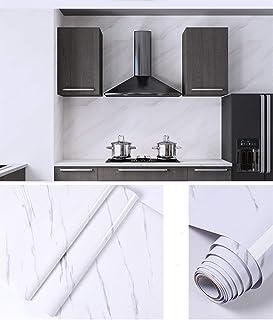 Homya marble wallpaper 60 * 500cmPVC bedroom wallpaper living room wallpaper waterproof and moisture proof wall decoration...