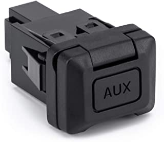 Auxiliary Input Jack for 06-11 Honda Civic, 09-11 CRV, 8th Gen Audio Video Aux Port Radio Kit Car Repair Parts 5-Pin Repla...