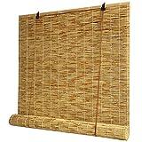 XYNH Persianas De Bambú,Sombreado Y Protección Solar, Fresco En Verano,Rollo Bambú Ventanas,Toldo...
