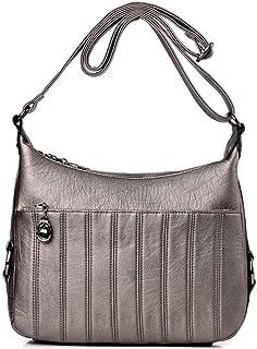 Shoulder Bag Hobos & Shoulder Bags Totes Messenger Bag Shoulder Bag Handbag Female Bag Casual Bag Aged Bag Handbag Clutch (Color : Bronze)