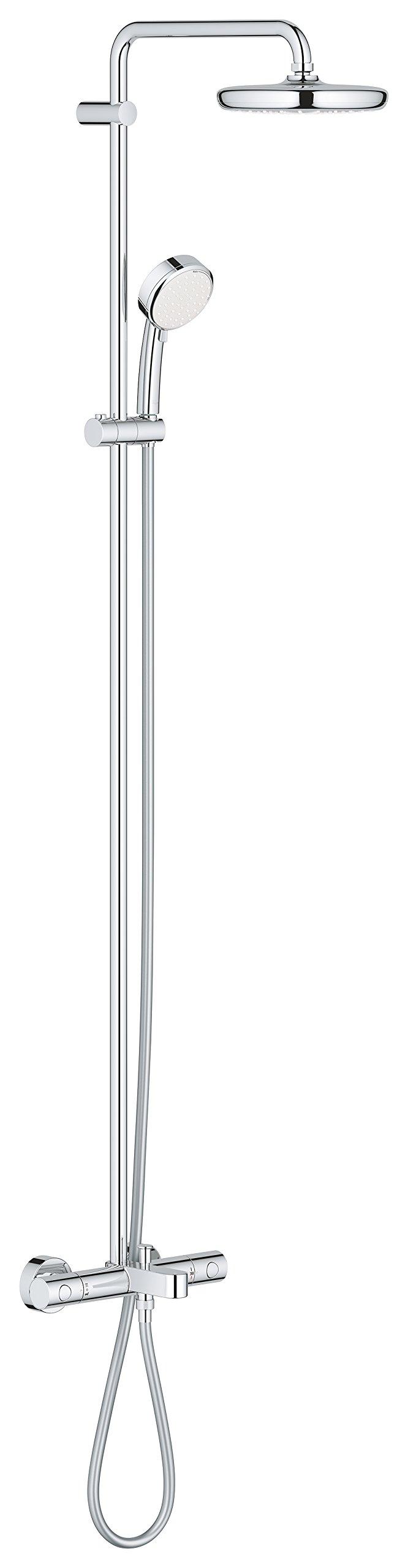 Grohe Tempesta Cosmopolitan 210 - Sistema de ducha con termostato ...