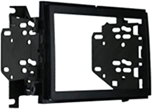 Metra 95-5822B Double DIN Installation Dash Kit for 2009-2010 Ford F-150 Non-NAV Models with Driver Info Switches in Factory Panel (Matte Black)