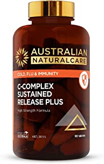 Australian NaturalCare - C-Complex Sustained Release PLUS 90 Tabs