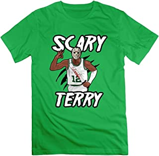 Scary Terry Shirts for Men Basketball Gift T-Shirt