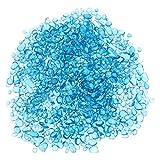 TEHAUX 1 paquete de 500 g colorido acuario pecera piedra delicada cristal cristal piedra decoración de paisaje acuario