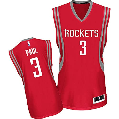 Chris Paul Houston Rockets NBA Youth Red Road Replica Jersey (Youth Small 8) 01ec5844e