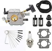 Hayskill BR400 BR420 Carburetor with Gasket Spark Plug Fuel Line Filter for STIHL SR320 SR340 SR380 SR400 SR420 BR320 BR340 BR380 BR400 BR420 Backpack Blower Bush Cutter