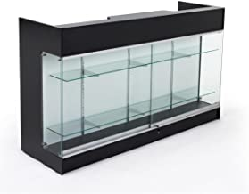 glass retail counter