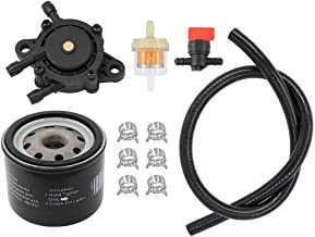 CQYD New 791230 Carburetor With Gasket Kit For Briggs /& Stratton 792295 699709 799230 /& 499804 V-Twin 20hp 21hp 23hp 24hp 25hp Manual Choke Carb