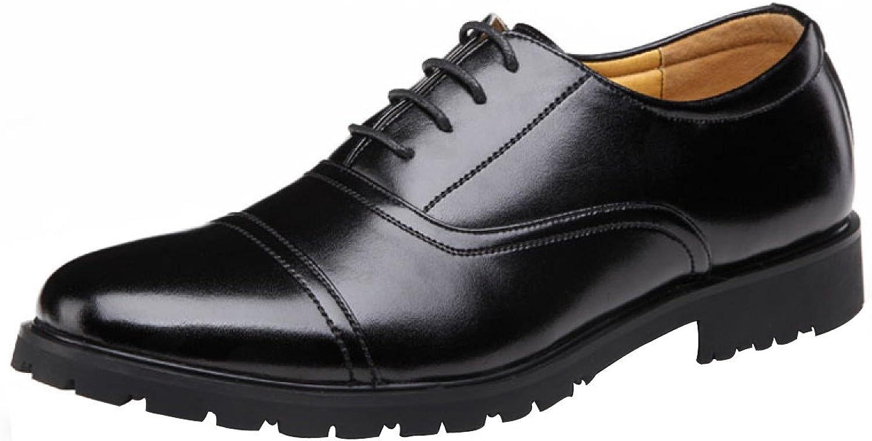 GTYMFH Mnner Geschft Leder Klassisch Spitze Oxford Schuhe