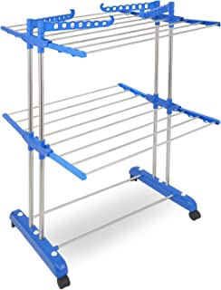 TNC Double Pole - 2 Layer Cloth Drying Stand / Rack