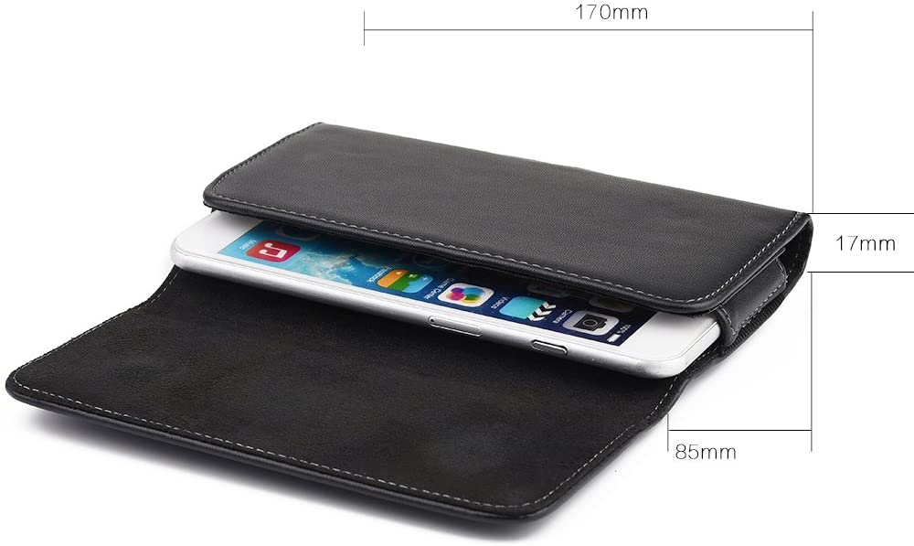 Horizontal Phone Belt Loop Pouch for Google Pixel 5, 4a 5G, 4a, for OnePlus Nord N10 5G, Nord N100