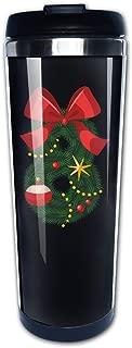 Boomy Custom Christmas Eight Tree Stainless Steel Travel Mug For Indoor & Outdoor Office School Gym Use