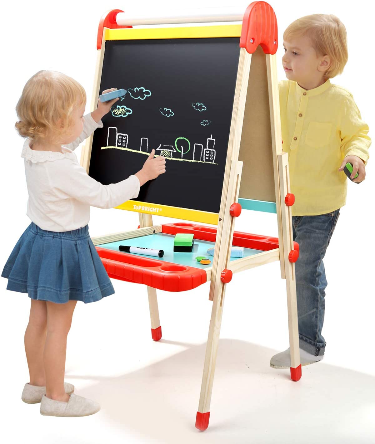 2. TOP BRIGHT Wooden Art Easel