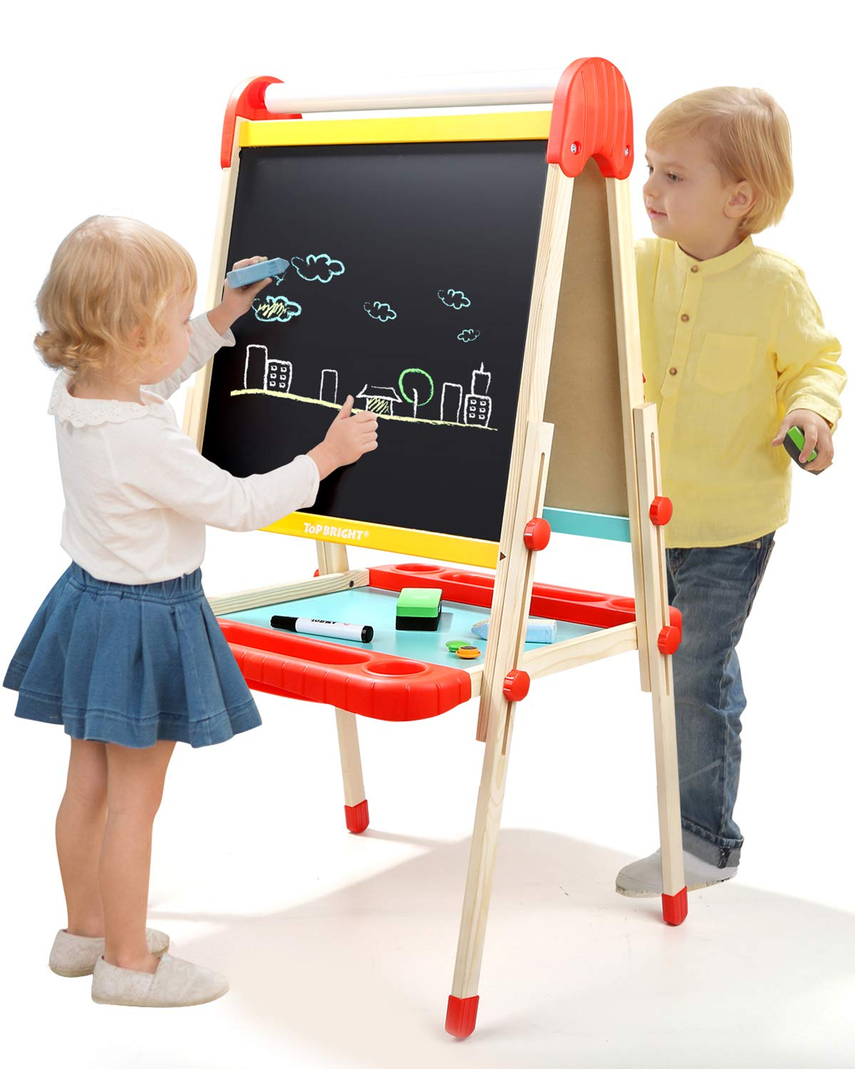 TOP BRIGHT Easel Kids Adjustable