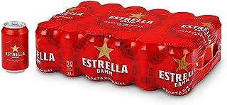 comprar comparacion Cerveza Estrella Damm Pack de 24 Latas 33cl