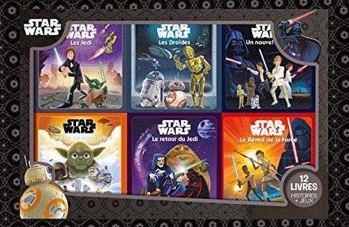 Episodes IV-V-VI-VII, Star Wars, COFFRET 12 LIVRES