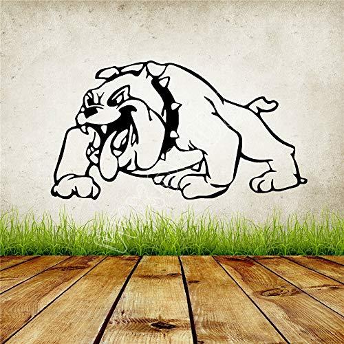 Hetingyue schattige dog cartoon dier vinyl landelijke kamer bedroom muur sticker huis decoratie vinyl muur sticker huis decoratie vinyl muur sticker huis decoratie