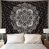 Tapiz grande de mandala indio tapiz de brujería montado en la pared manta de toalla de playa montada en la pared para el hogar A8 150x200cm