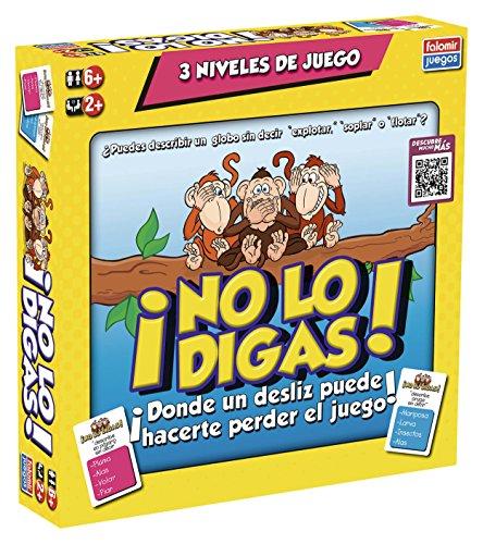 Falomir-No Lo Digas Juego de Mesa, Multicolor, única (32-21001)