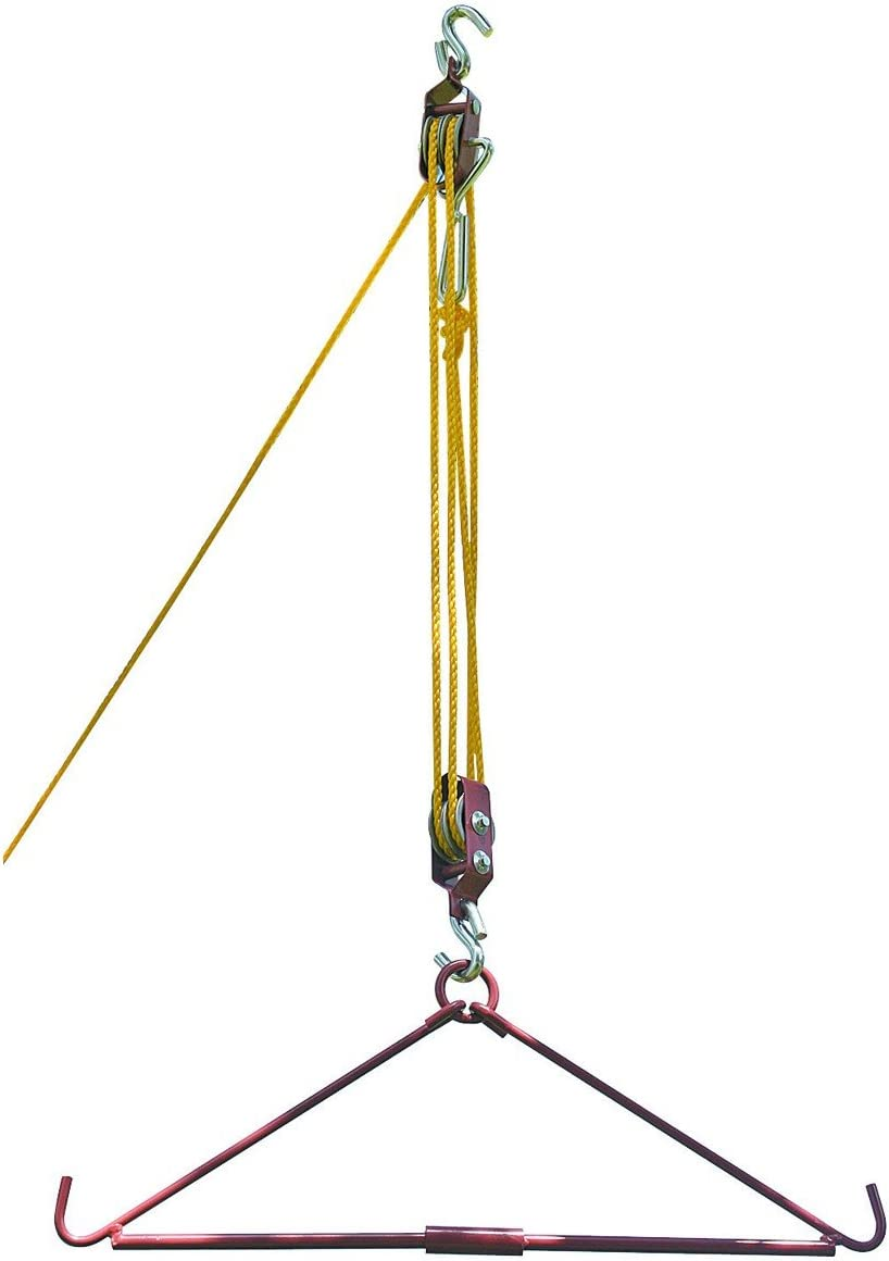 Rugged Gear 99758 Max 68% OFF Gambrel 35% OFF Hoist Pulley and