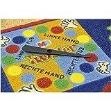 Spielteppich Twister / Material: Polyamid, Latexrücken / Maße: ca. 145 x 133 x 0,5 cm / Gewicht:...