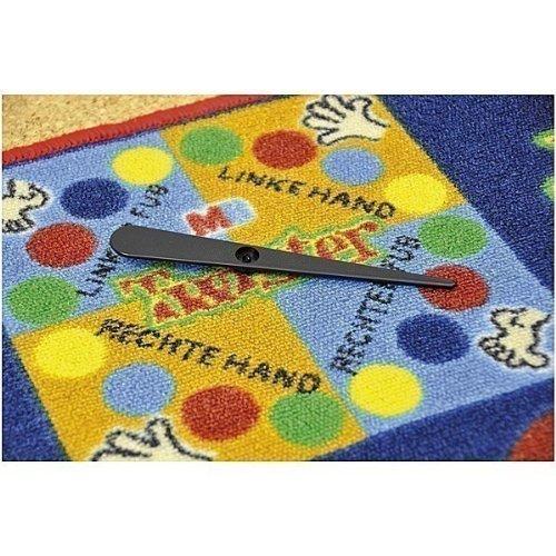 Spielteppich Twister / Material: Polyamid, Latexrücken / Maße: ca. 145 x 133 x 0,5 cm / Gewicht: 2,26 kg / 6+