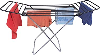 VIMART® RUSTPROOF Cloth Dryer Stand for Balcony and Tarrace Bed Type for Extra Sunlight Exposure for Cloth Space Saving VIMAR