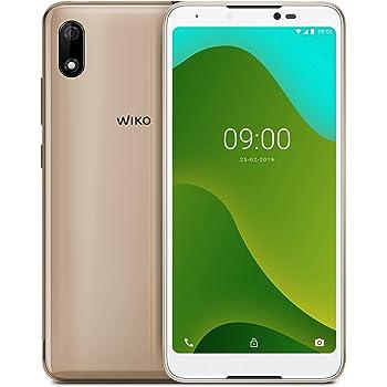 """Wiko Y60 + Carcasa - Smartphone 4G de 5,45"""" (Dual SIM, 16 GB de ROM, Quad Core 1,3GHz, 1 GB de RAM, cámaras 5MP, Android 9 Pie Go Edition) Turquesa: Wiko: Amazon.es: Electrónica"""