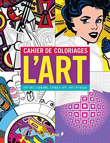 Cahier de coloriages L'Art