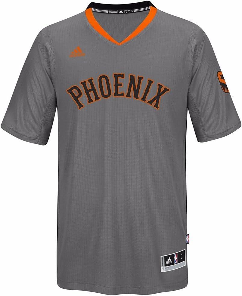 Amazon.com : adidas Phoenix Suns NBA Grey Swingman Jersey for Men ...