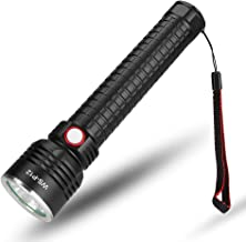 LED Strong Light Flashlight, USB Charging, Aluminum Alloy Material, Telescopic Focusing, Special for Outdoor Camping Lighting