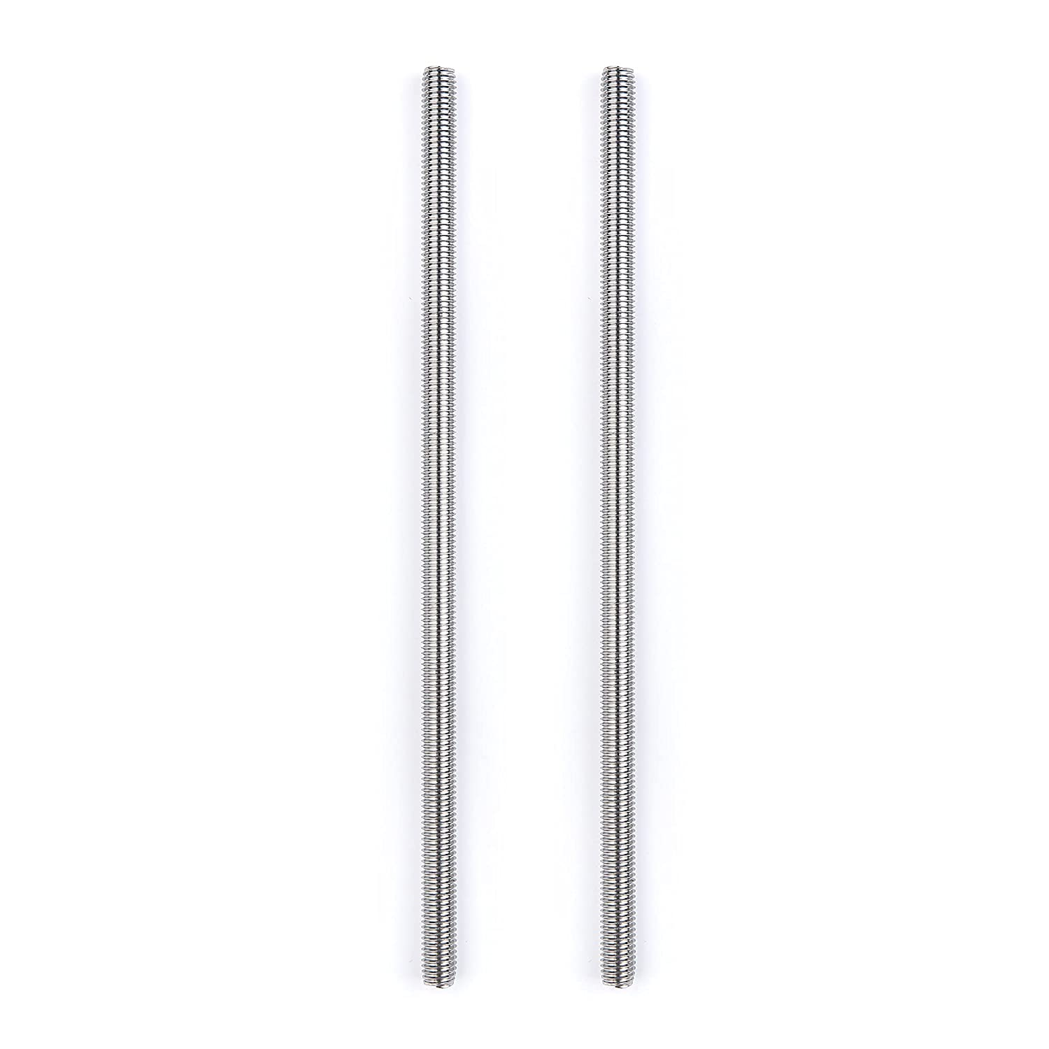 2Pcs M4 x 250mm Fully 55% OFF Threaded Rods Sta Rod Bar Studs Cash special price 304 Screw