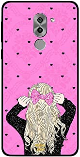 Honor 6X Case Cover Pink Hairclip, Moreau Laurent Premium Phone Covers & Cases Design