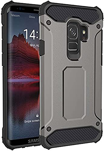new arrival Samsung Galaxy discount S9, Full-Body Rugged Case - Slim Design, Dual Layer, Shock new arrival & Drop Resistant with Polycarbonate Hard Shell and Flexible TPU Bumpers - Gray online sale