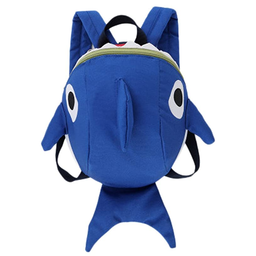 Londony Clearance Sales! Toddler Baby Unisex Cute Cartoon Shark Animal Bag Backpack Children School Bag