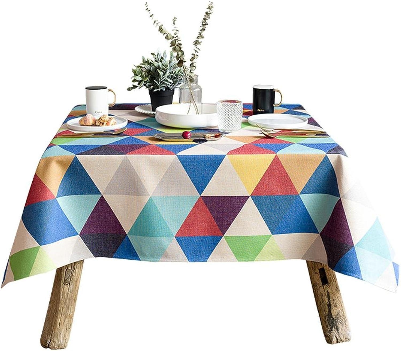 Xiaowu Tischdecke einfache Moderne rechteckige Tischdecke geometrische Couchtisch Tischdecke Tischset, 140  140cm B07BV115BD Elegante und stabile Verpackung  | Shop Düsseldorf