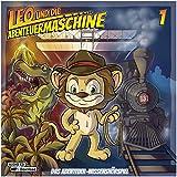 Leo und die Abenteuermaschine 1 |  Kinderhörspiel | Audio CD + mp3 Inside |Wissenshörspiel für Kinder | Dinosaurier | Cowboy | Gebrüder Wright