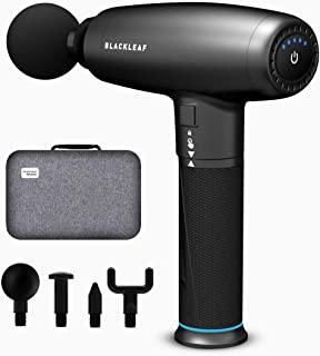 Massage Gun, Deep Tissue Percussion Massager for Relieve Muscle Pain, Soreness, Stiffness and Deep Relaxation, Portable Sports Drill Handheld Electric Body Muscle Massager, Super Quiet Brushless Motor