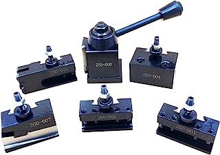 "0XA Wedge Type Quick Change Tool Post Set For Mini Lathe 6-9"" SWING Steel Material"