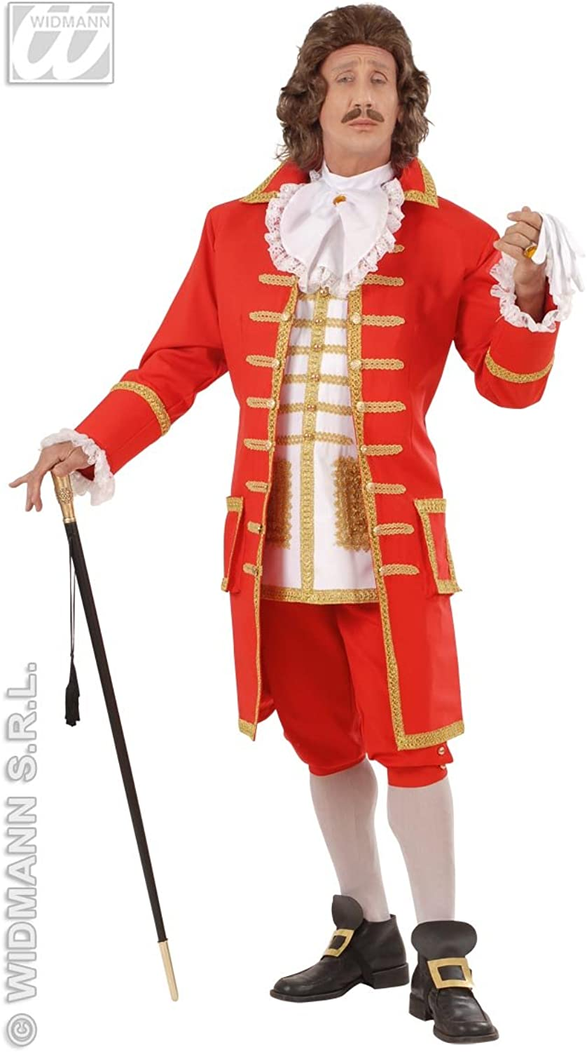 Costume red baron Peter the Great. Size  L