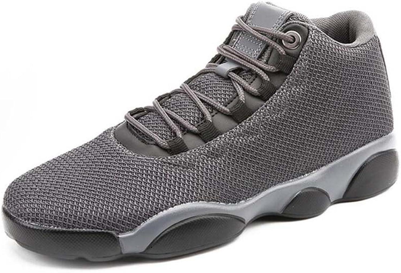 Men Mid Snekers Large Size Basketball shoes Lace Up Breathable Mesh Sport shoes Eu Size 39-45