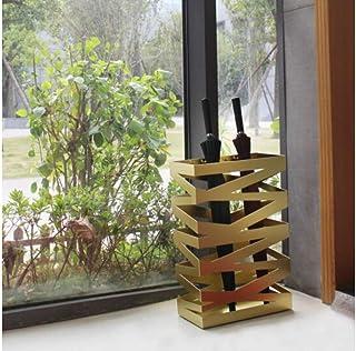 FCXBQ Paraply Bucket Company Paraply Universal Järn Färg Hotell Bänk Lobby Fuktstativ Paraply 61 x 20 x 40 cm (Storlek: Gul)