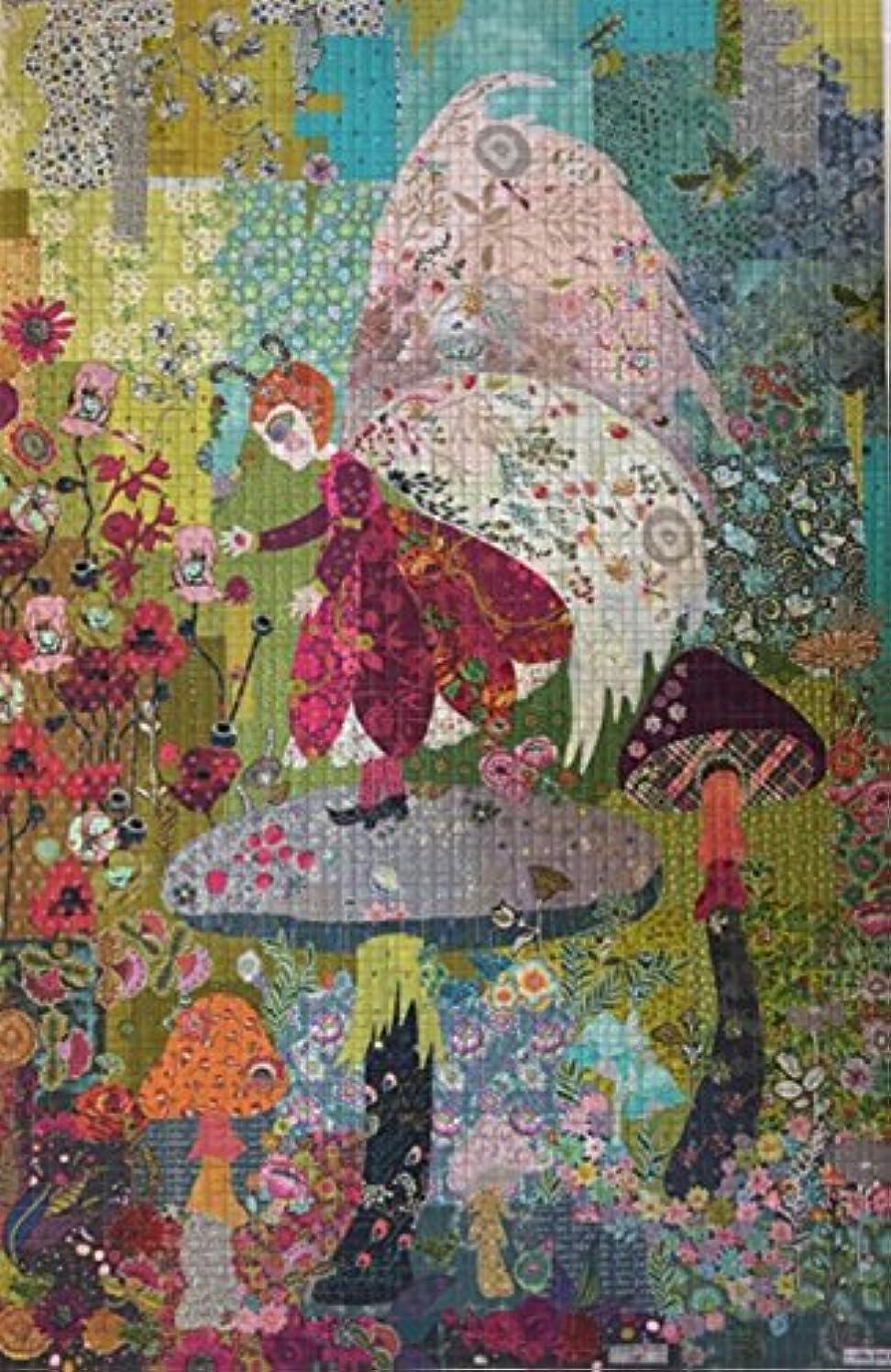 Fiberworks LHFWMEA Meadow Collage Pattern, Finishes 40