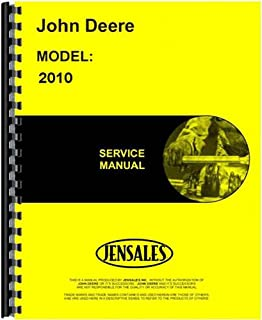 New Tractor Service Manual for John Deere 2010